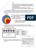 Summary Ch 1 & 2 PMBOK