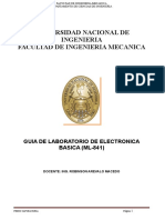 Guia de Laboratorio de Electronica (Ml-841a)