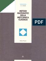 (Nuova Biblioteca Di Cultura 204) Vladimir I. Arnold - Metodi Matematici Della Meccanica Classica-Editori Riuniti - Edizioni MIR (1992)