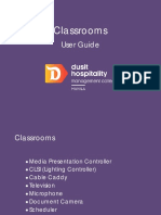Classrooms User Guide
