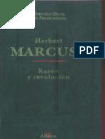 Marcuse-Razón y revolución