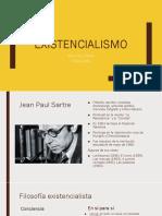 El existencialismo de Jean Paul Sartre