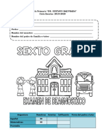 examen diagnostico 6to