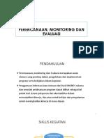 Perencanaan Monitoring Dan Evaluasi