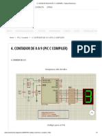 4. Contador de 0 a 9 (Pic c Compiler) - Habacuc Electronics