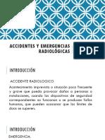 Accidentes y Emergencias Radiológicas