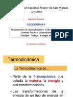 1 ley de la termodinámica
