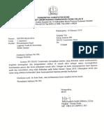Laporan IPCN Ke Ketua Komite PPI