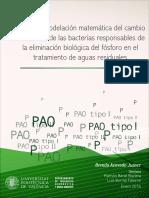 ACEVEDO - Estudio y Modelación Matemática Del Cambio Metabólico de Las Bacterias Responsables de ...