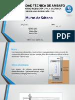 MURO DE SOTANO