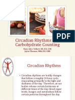 circadian rythym    carb counting
