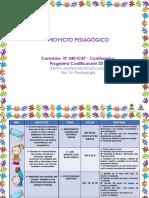 Pp Proyecto Pedagógico Base 2018