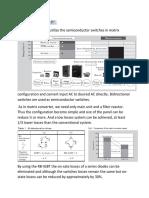 Matrix Converter_reading Notes