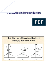 Absorption in Semiconductors.ppt
