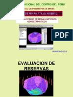 EVALUACIÓN DE RESERVAS