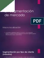 2.1 Segmentacion de Mercado