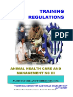 TR - Animal Health Care and Management NC III.doc