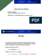1-Coleccion Datos Array