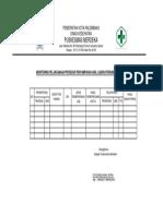 8.1.4.5. Hasil Monitoring Pelaksanaan Prosedur Penyampaian Hasil Lab Yg Kritis