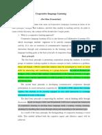 Paper Presentation ( Tefl- Collaborative Learning )