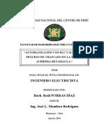 AUTOMATIZACIÓN CON PLC Y SCADA DEL PROCESO DE CHANCADO EN LA MINERA AURÍFERA RETAMAS S.A