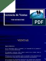 GERENCIA DE  VENTAS