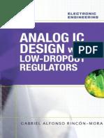 Analog IC Design With Low-Dropout Regulators (LDOs)