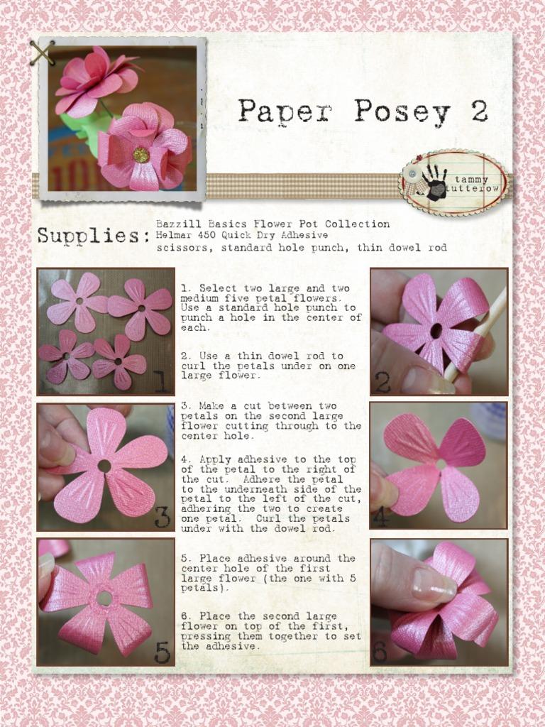 Paper Posey 2 Tutorial