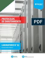 Enrutamiento estático IPv4
