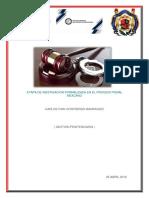 Etapa de Inestigacion Formalizada en El Proceso Penal Mexcano