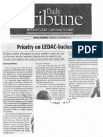 Daily Tribune, Sept. 23, 2019, Priority on LEDAC-backed bills.pdf
