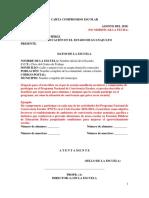 Carta Compromiso PNCE 2018-2019