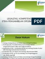 Legalitas, Kompetensi Dan Etika Phlebotomi_ DPC Kota Semarang_260818