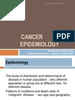 K - 2 Cancer Epidemiology (IKA)