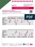 Info Trafic AXE Q Paris-Bourges-Montluçon
