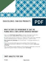 Eggscellence Case PPT