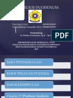 Obstruksi Duodenum PPT