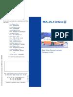 Bajaj Allianz Motor Insurance Brochure