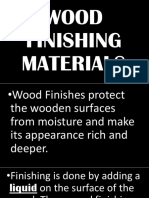 Wood Finishing Materials