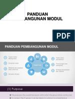 Panduan Pembangunan Modul