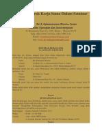 Contoh Kontrak Kerja Sama Dalam Seminar