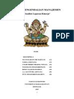 Tugas Sistem Pengendalian Manajemen Kelompok 4