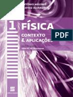 Física 2018 Contexto & Aplicações Vol - 1 Antonio Maximo Beatriz Alvarenga