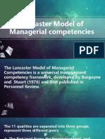Lancaster Model