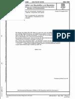 DIN 4102-04 Brandverhalten - Zusammenstellung Klassifizierter Baustoffe