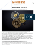 Cryptocurrency and Blockchain in Coffee, Part 1_ Retail - Daily Coffee News by Roast MagazineDaily Coffee News by Roast Magazine