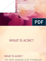 Presentation ACWC