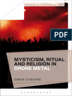 (Bloomsbury Studies in Religion and Popular Music) Owen Coggins - Mysticism, Ritual and Religion in Drone Metal-Bloomsbury Academic (2018)