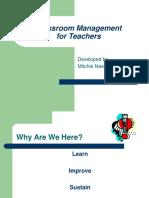 Classroom Management for Teachers 1-09.ppt