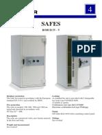 Catálogo Robur Safes IV V